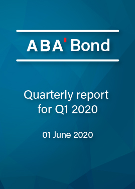 Quarterly report Q1 2020