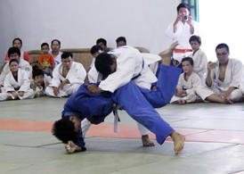 Continuous support of Cambodian Judo Federation